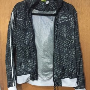 Trendy Patterned Adidas Jacket (Small)
